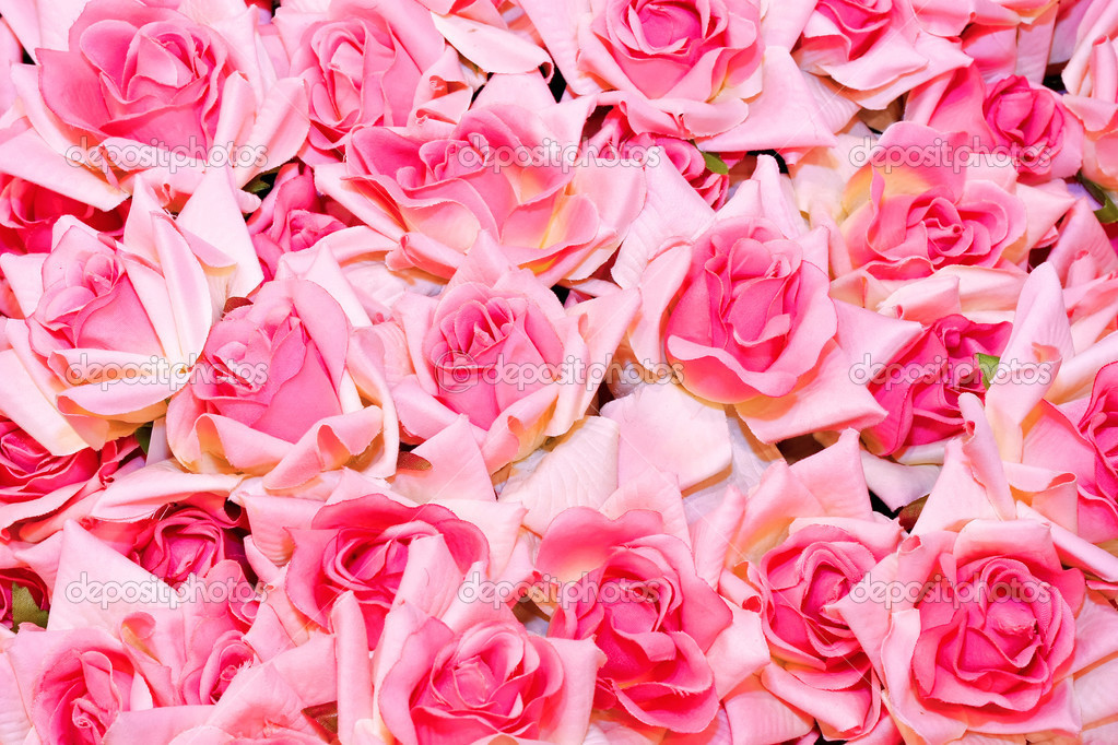 Closeup detail of a bunch of roses — Stock Photo #2612916