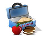 School Lunch — Stock Photo