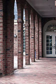 Brick Columns — Stock Photo