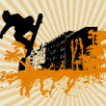 City skape — Stock Photo