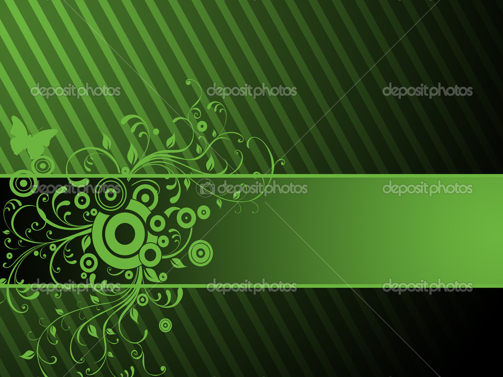 Green ornament — Stock Photo #2051391