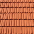 Stock Photo: Rows of Roof Tiles