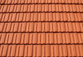 Rows of Roof Tiles — Stock Photo
