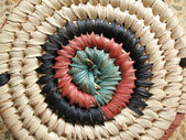 African Basket Design 1 — Stock Photo