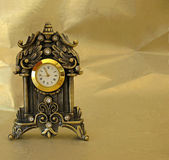 Golden Clock — Stock Photo