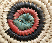 African Basket Design 2 — Stock Photo