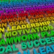 Stock Photo: Principles of Success - Colorful Words