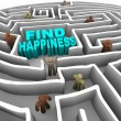 Find Your Way to Happiness - Stock Photo