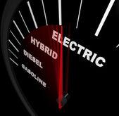 Racing Through Alternative Fuel Sources - Speedo — Stock Photo