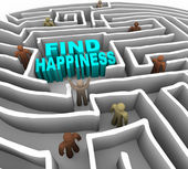 Find Your Way to Happiness — 图库照片