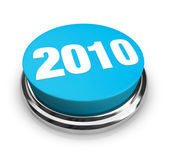 2010 - Blue Button — Stockfoto