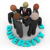 Diversity - Business Team of Men and Women — Stock Photo