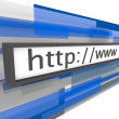 Website Address Bar - http and www - Zdjęcie stockowe
