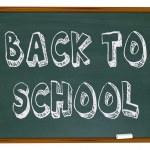 Back to School - Words on Chalkboard — Stock Photo