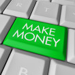 Make Money Key on Computer Keyboard — Stock Photo #2075889