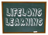 Lifelong Learning - Chalkboard — Stock Photo