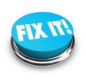 Fix It Button — Stock Photo