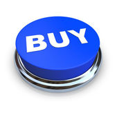 Buy Button - Blue — Stock Photo