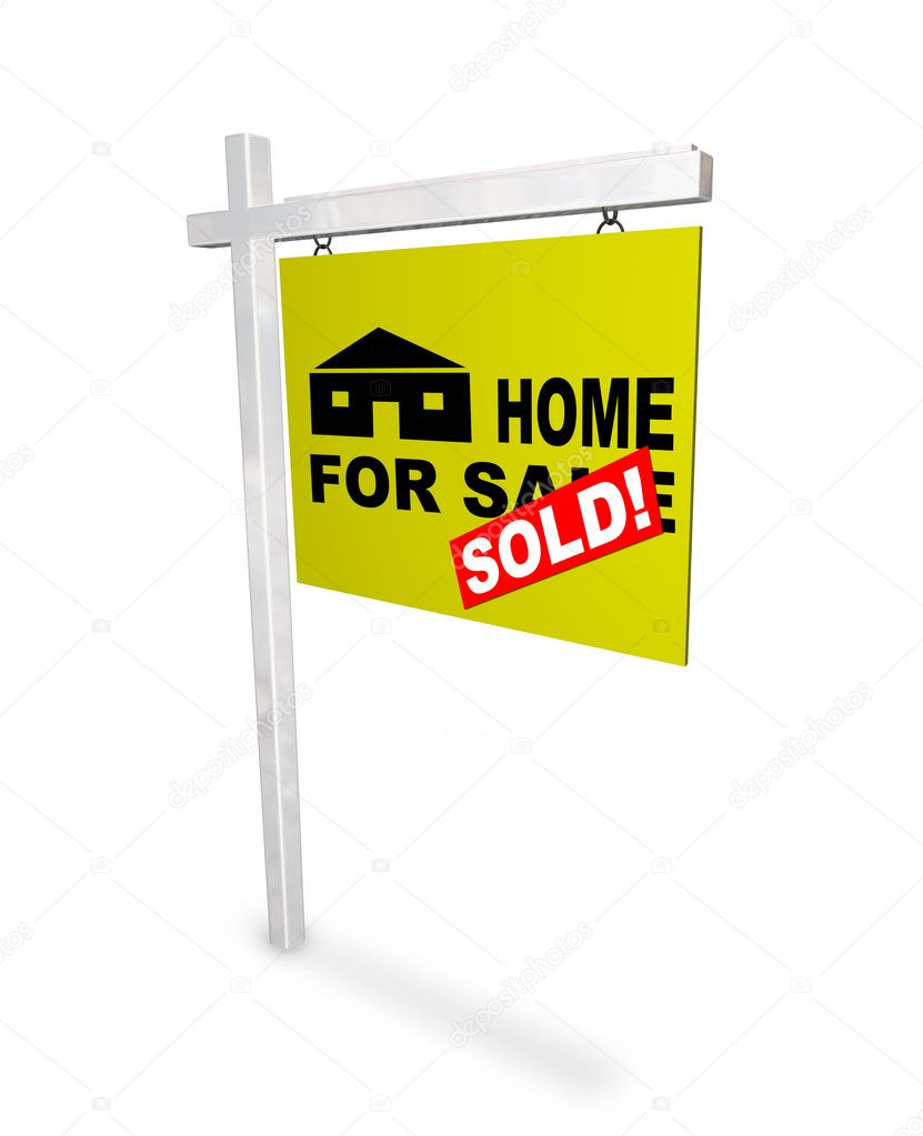 For Sale Sold Sign: Stock Photo © Iqoncept #2075508