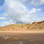 在荷兰的北海海滩 — 图库照片