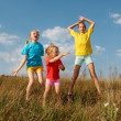 Children on a meadow — Stock Photo #2408650