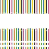 Vector striped grunge background — Stock Vector