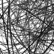 Stock Photo: Abstract metallic wires