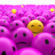 Smiley balls — Stock Photo
