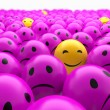 Stock Photo: Smiley balls