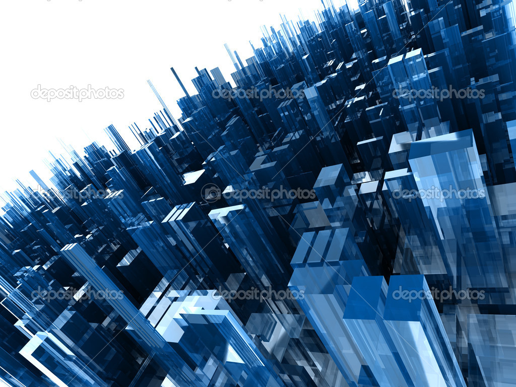 Awesome 3D Blue Blocks Wallpaper | HD 3D and Abstract Wallpapers ...