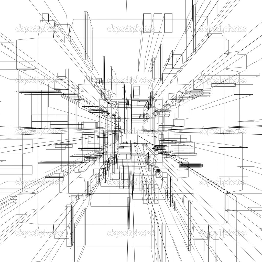 Abstract Wireframe Stock Photo Twistah 2043749