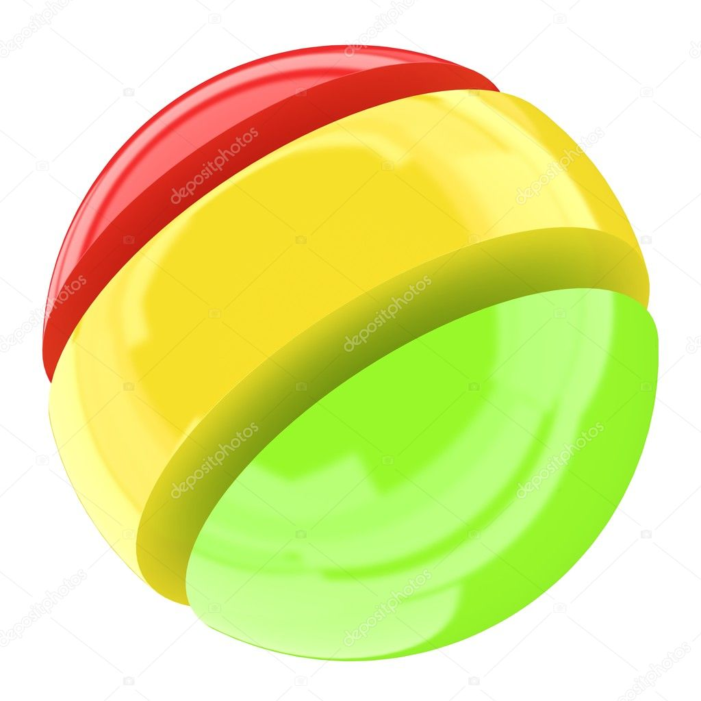 Colored ball — Stock Photo #2043978