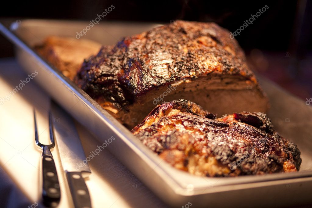 A fresh roast beef. — Stock Photo #2132159