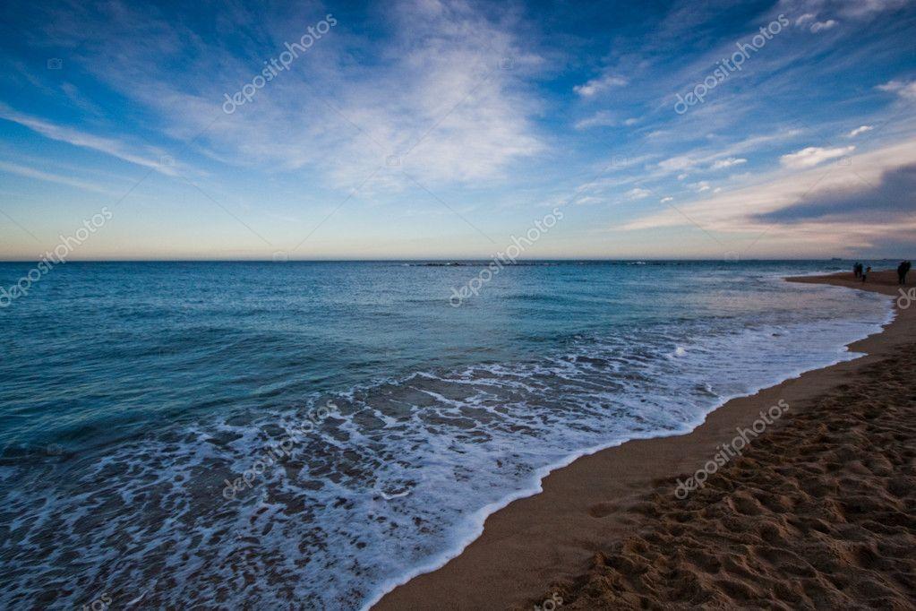 Barcelona beach — Stock Photo © tokaja #2095557