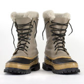 Heavy snow boots — Stock Photo