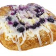 Blueberry cheese danish pastry — Stock Photo
