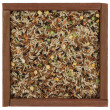 Royalty-Free Stock Photo: Pilaf mix in a wooden box
