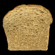 Slice of nine grain bread - Stock Photo