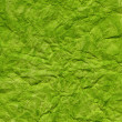 Green watercolor crumpled background — Stock Photo