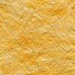 Yellow watercolor texture on paper — Stock Photo