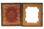 Antique photography case — Zdjęcie stockowe