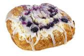 Blueberry cheese danish pastry — Stock Photo