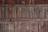 Weathered wood of old barn wall — 图库照片