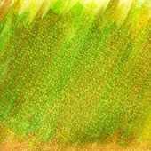 Green and yellow patchy abstract — Stock Photo