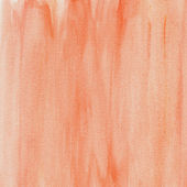 Red watercolor wash background — Stock Photo
