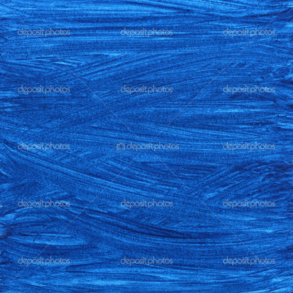 Dark blue wavy watercolor background — Stock Photo ...
