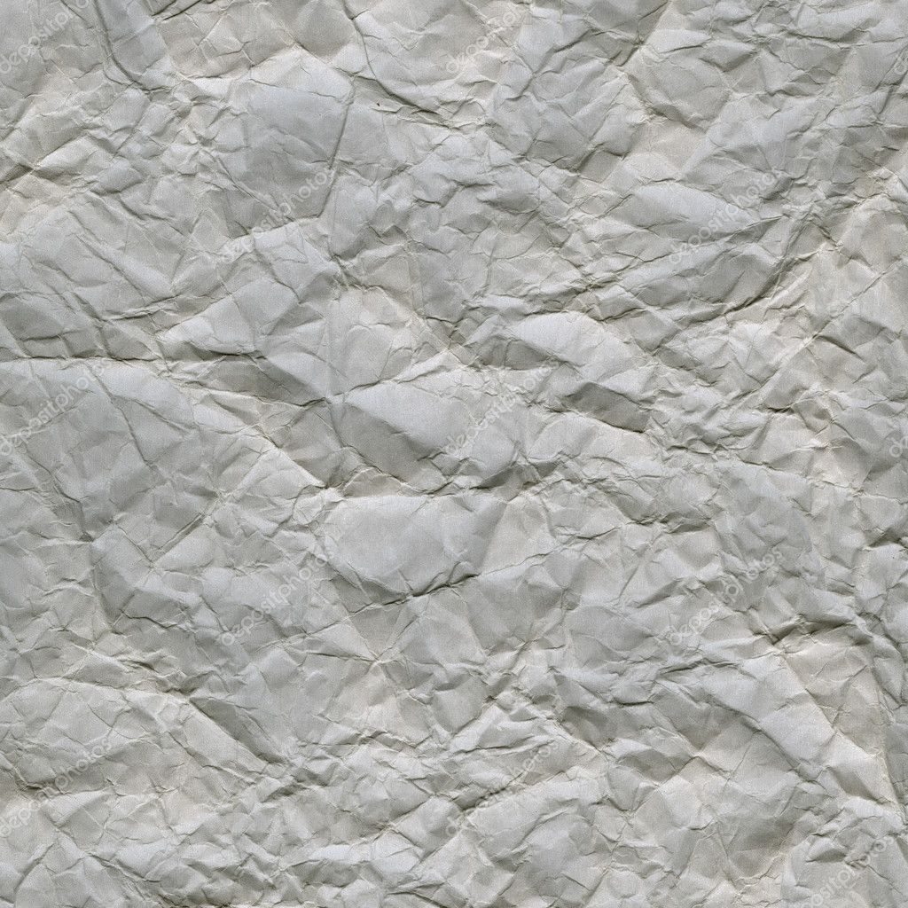 Grunge, crumpled, wrinkled and creased gray paper background — Stock Photo #2055331