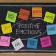 Ten positive emotions — Stock Photo