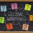 Global warming question — Zdjęcie stockowe