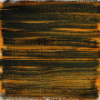 Stock Photo: Orange and black watercolor abstract